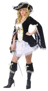 Midnight Musketeer Pirate